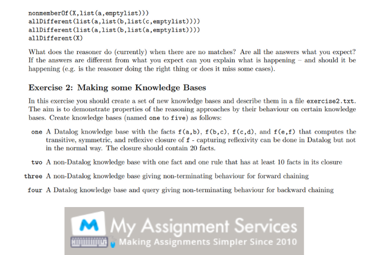 college coursework solution sample 3