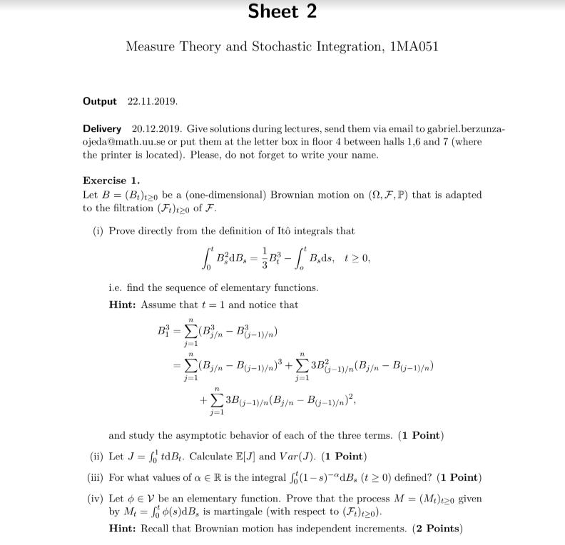 math assignment sample