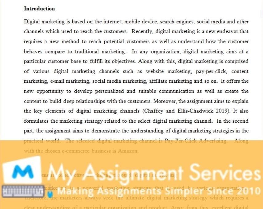 media dissertation solution sample