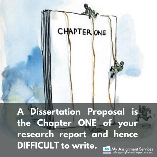 write dissertation proposal