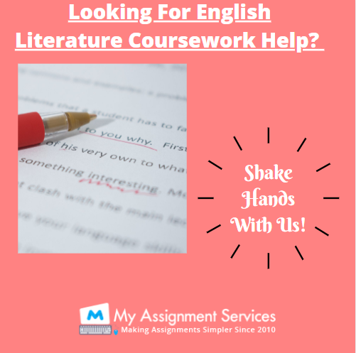 English literature coursework help UK