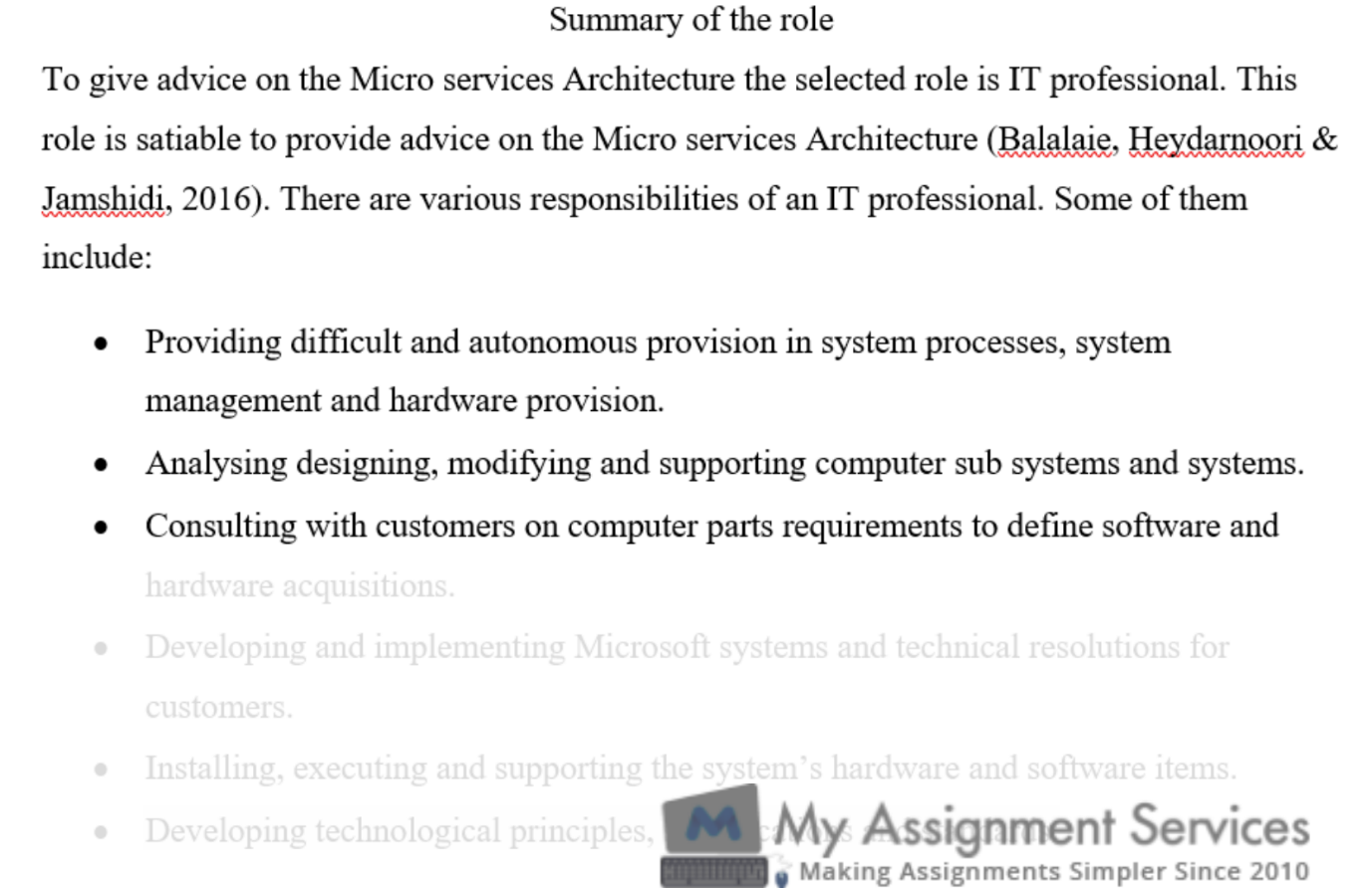 computing coursework assessment sample 2