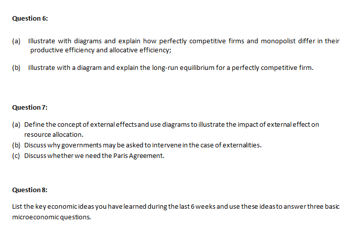 economics coursework assessment sample 5