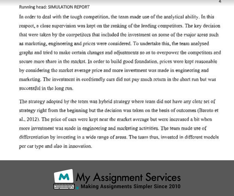 mba dissertation assessment answer sample 2