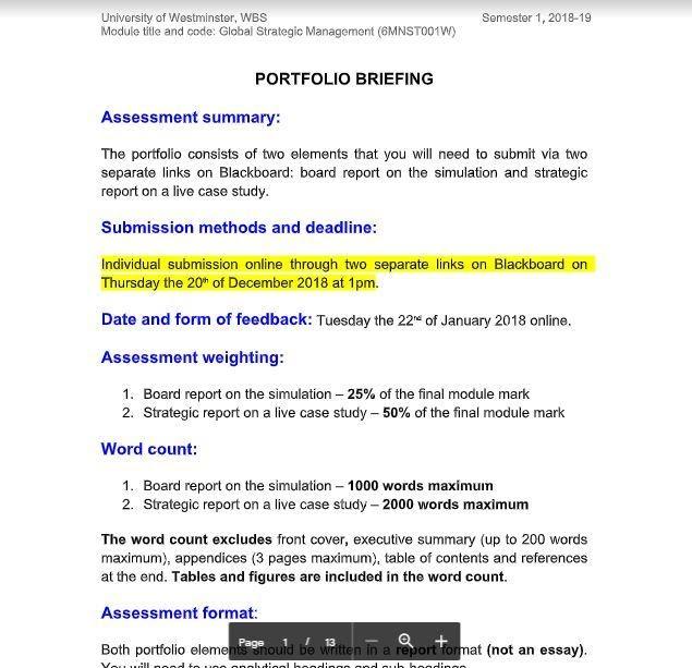 mba dissertation assessment sample