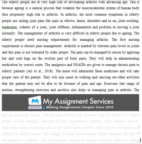nursing dissertation proposal assessment sample 3