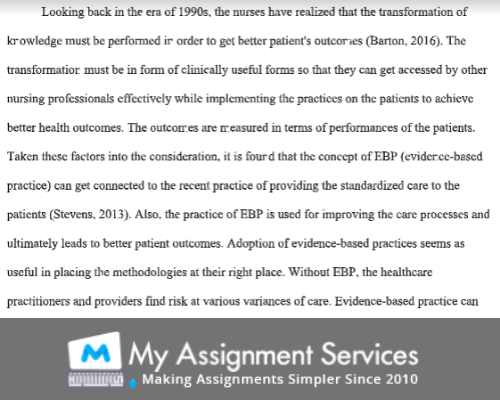 nursing essay assessment sample 4