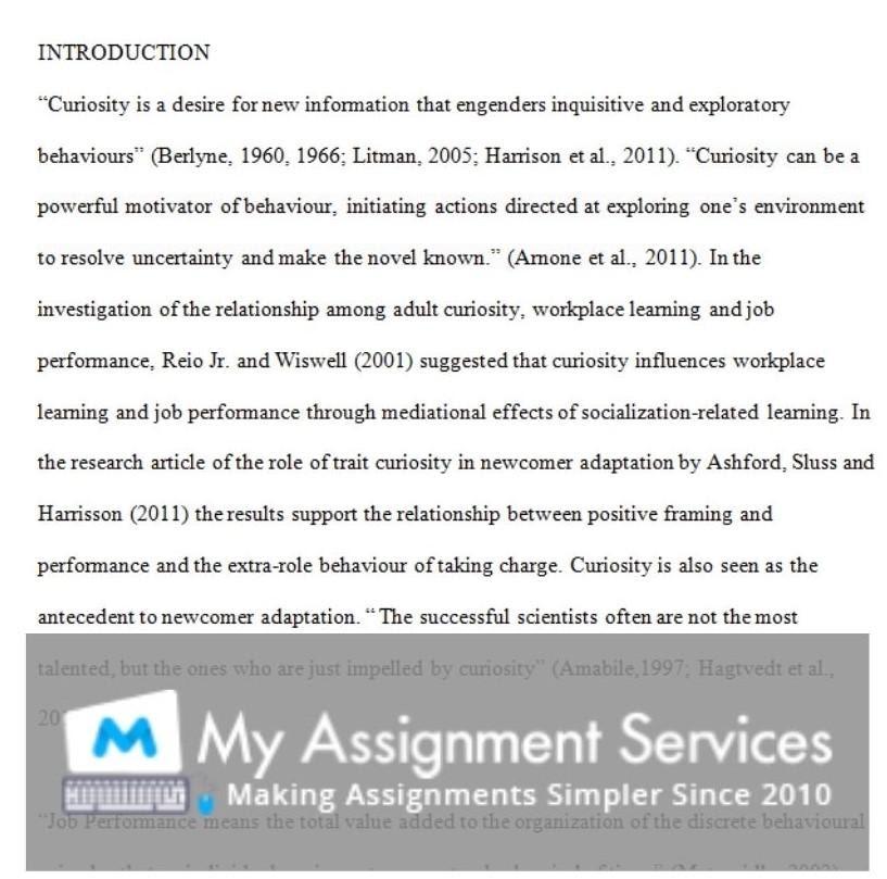 phd dissertation assessment sample