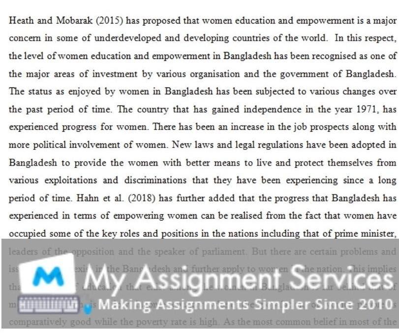 politics dissertation assessment sample 4