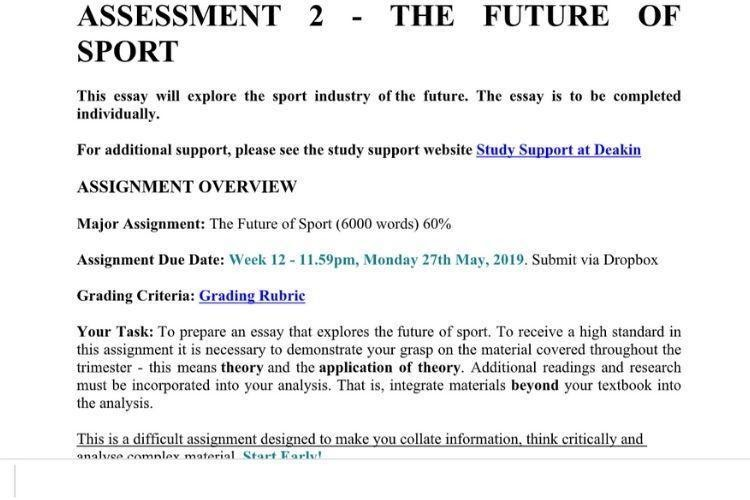 uk essays - assessment sample